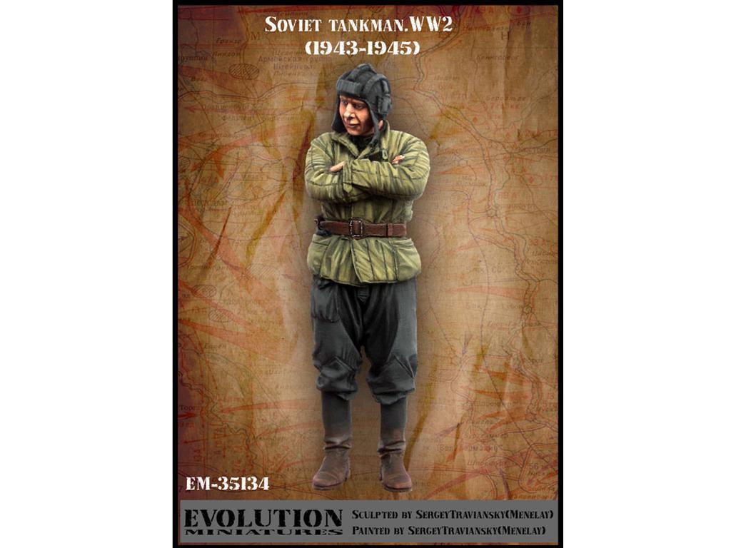 Tanquista Sovietico 1943-1945 (Vista 1)