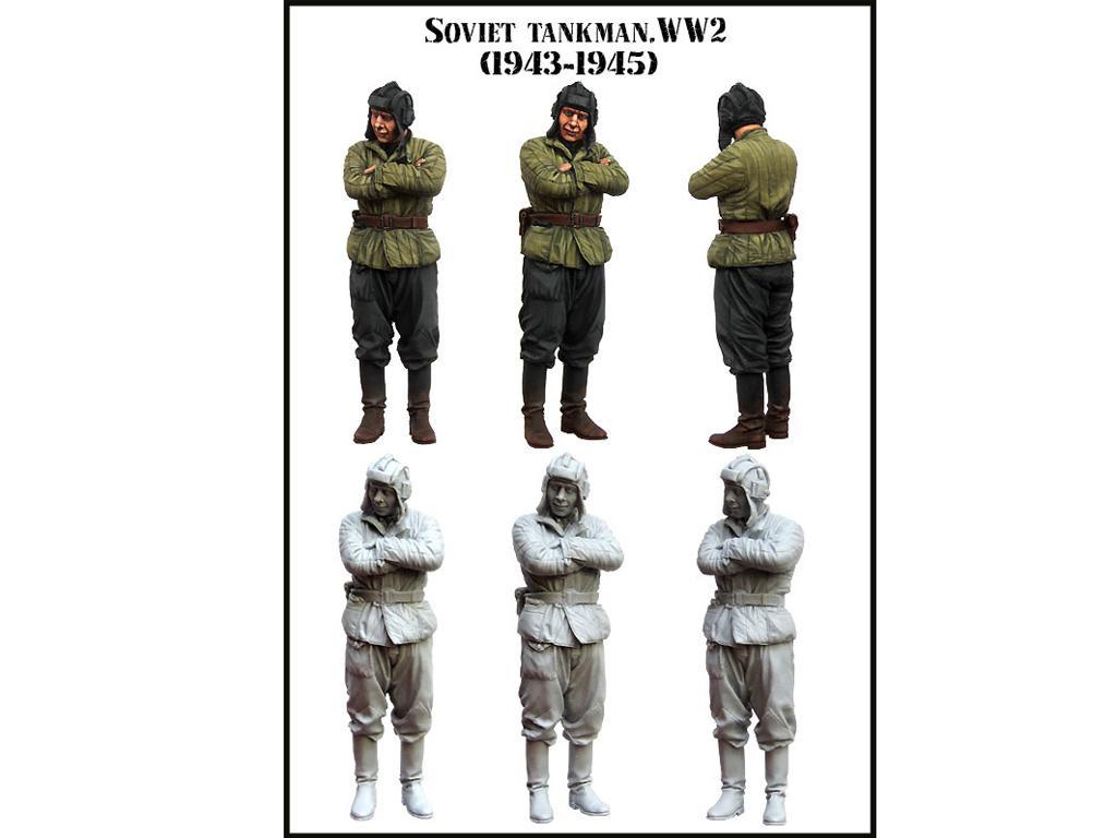 Tanquista Sovietico 1943-1945 (Vista 2)