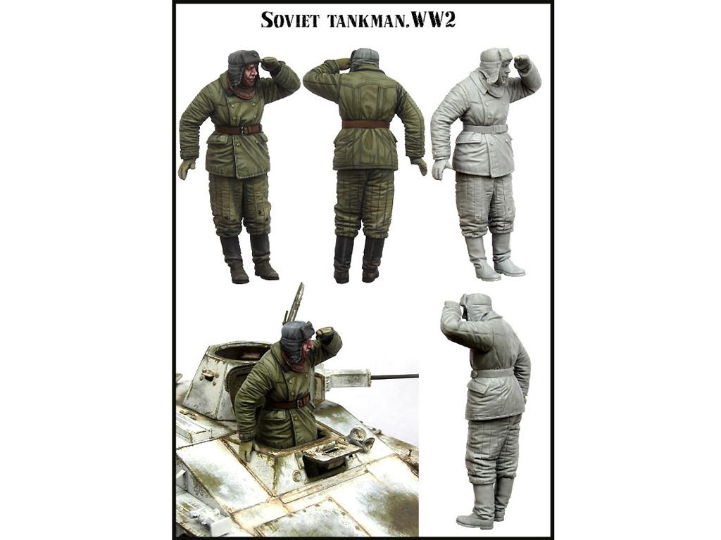 Tanquista Ruso  (Vista 2)