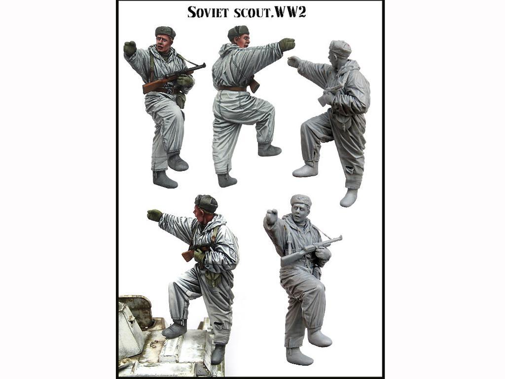 Explorador Soviético (Vista 2)