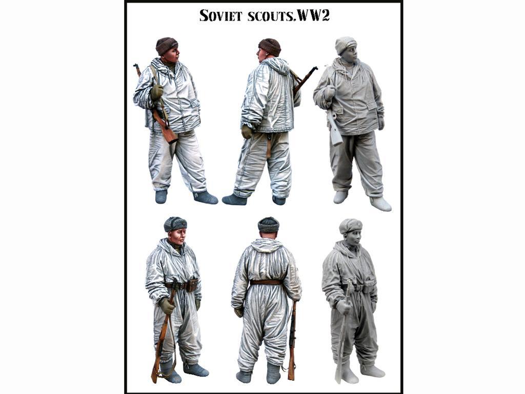 Exploradores Soviéticos (Vista 2)