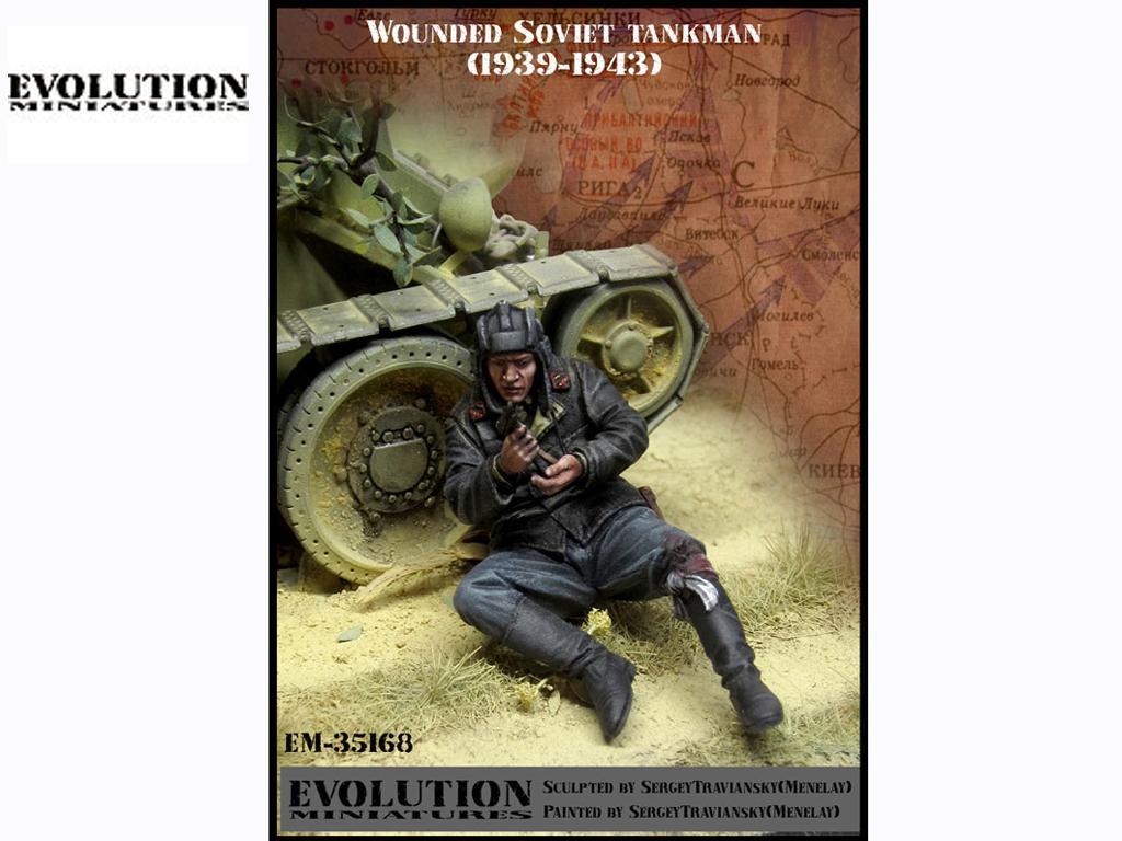 Tanquista Soviético herido 1939 - 1943  (Vista 1)