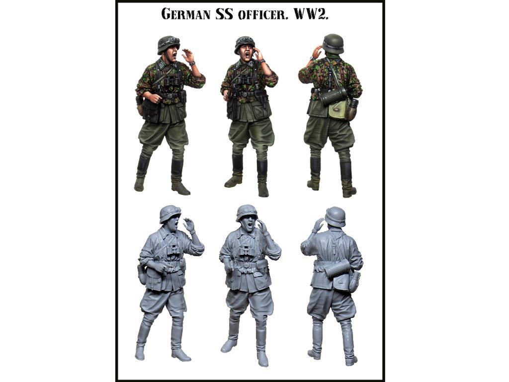 Oficial Aleman SS (Vista 2)