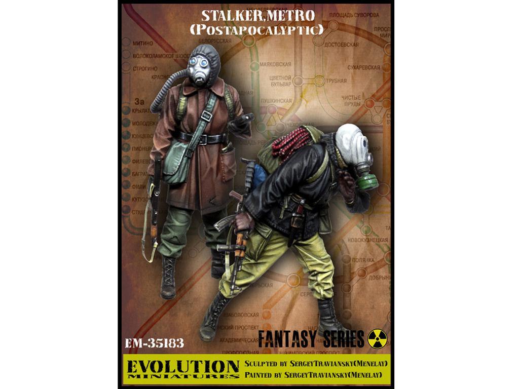 Stalker. Metro Postapocalyptic (Vista 1)