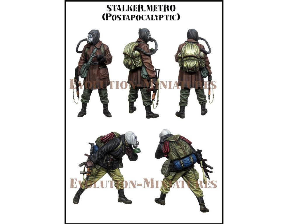 Stalker. Metro Postapocalyptic (Vista 2)