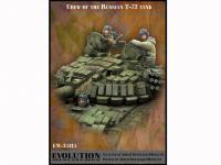 Tanquistas Rusos  Tanque T-72 (Vista 3)