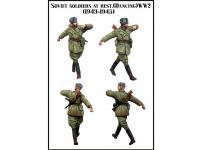 Soldado soviético bailando 1943 - 1945 (Vista 4)