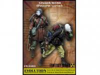 Stalker. Metro Postapocalyptic (Vista 3)