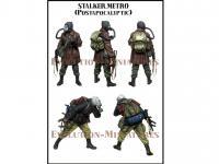 Stalker. Metro Postapocalyptic (Vista 4)