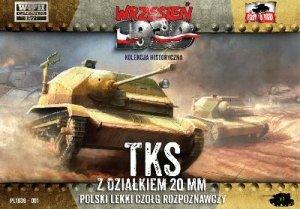 Polish TKS Light Panzer  (Vista 1)