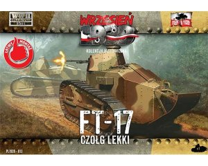 FT-17 light tank with octagonal turret  (Vista 1)