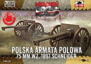 Polish Field Cannon 75mm Schneider  (Vista 1)