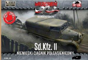 Sd.Kfz. 11 - German Half-track tractor  (Vista 1)