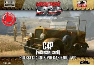C4P Polish Artillery Halftrack Tractor,   (Vista 1)