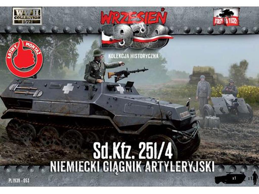 Sd.Kfz. 251/4 - German Artillery Tractor  (Vista 1)