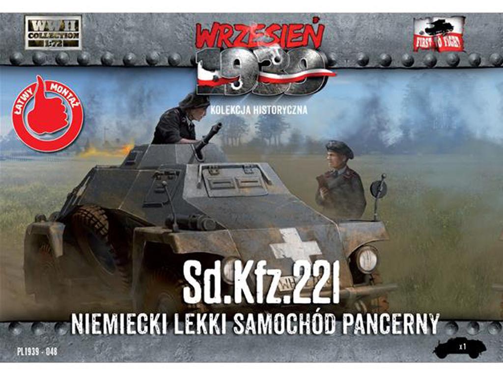 Sd.Kfz. 221 - German Light Armored Car (Vista 1)
