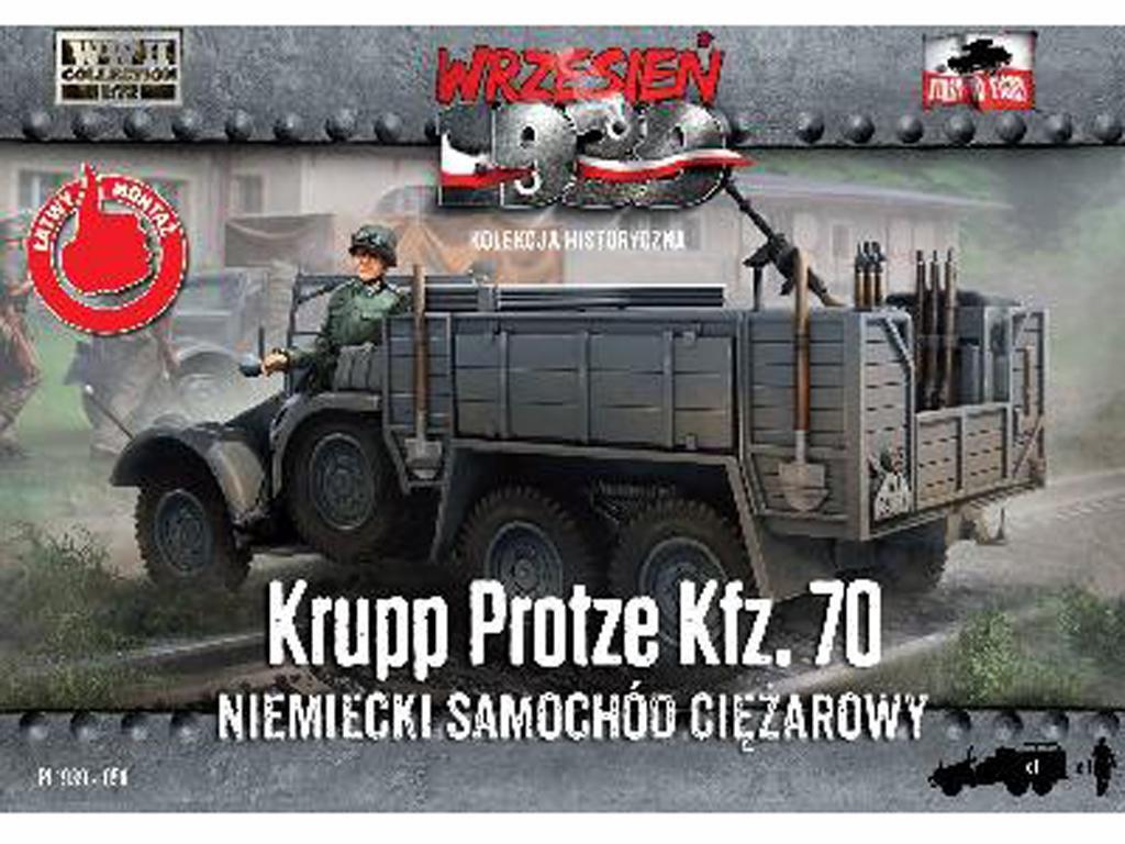 Kfz.70 Krupp Protze - 1939 (Vista 1)