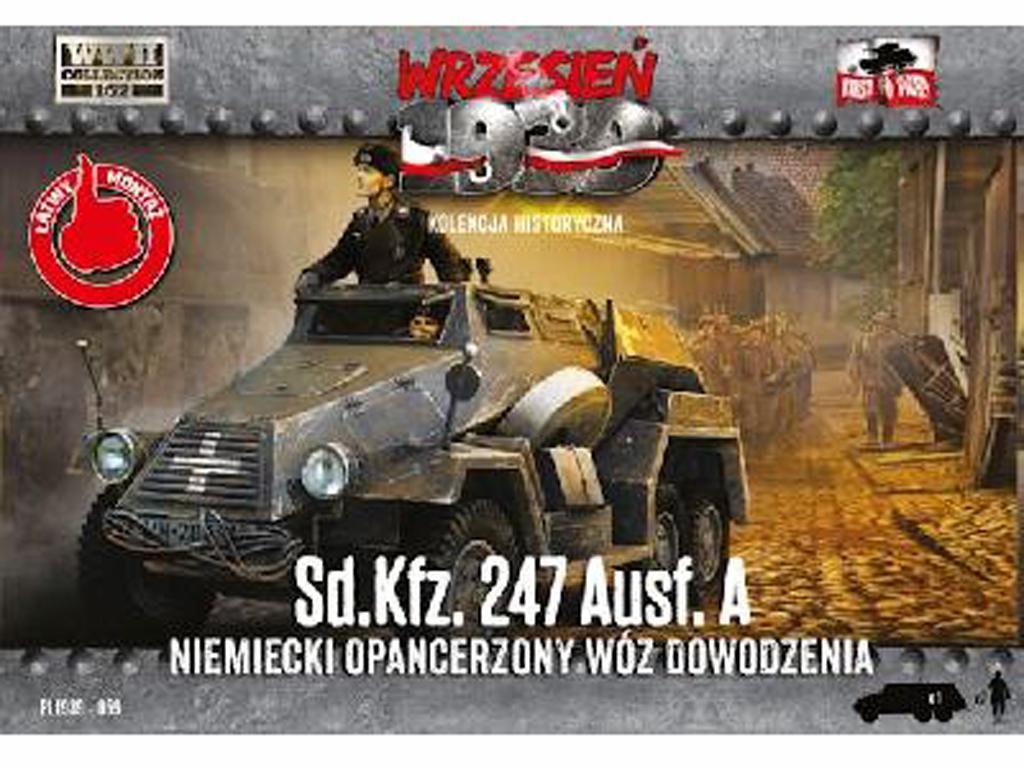 Sd.Kfz 247 Ausf A -1939/1941 (Vista 1)
