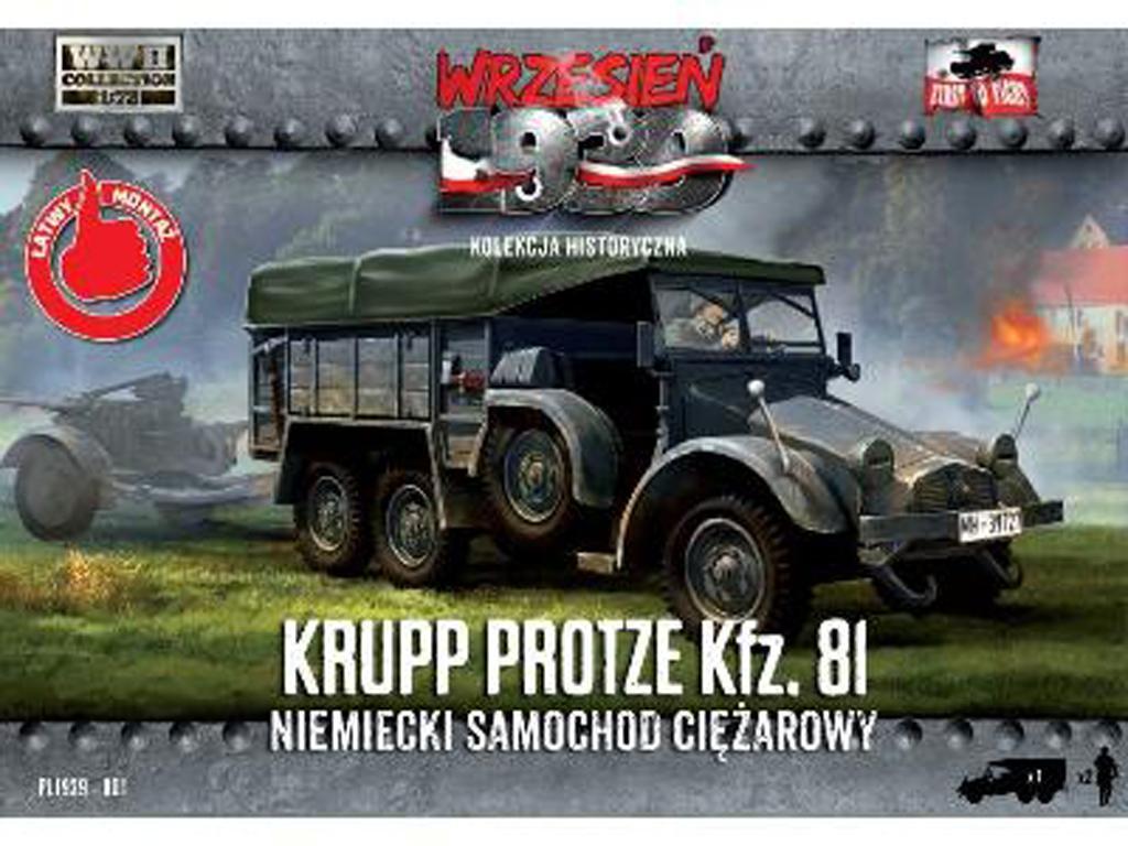 Kfz.81 Krupp Protze 1939/1941 (Vista 1)