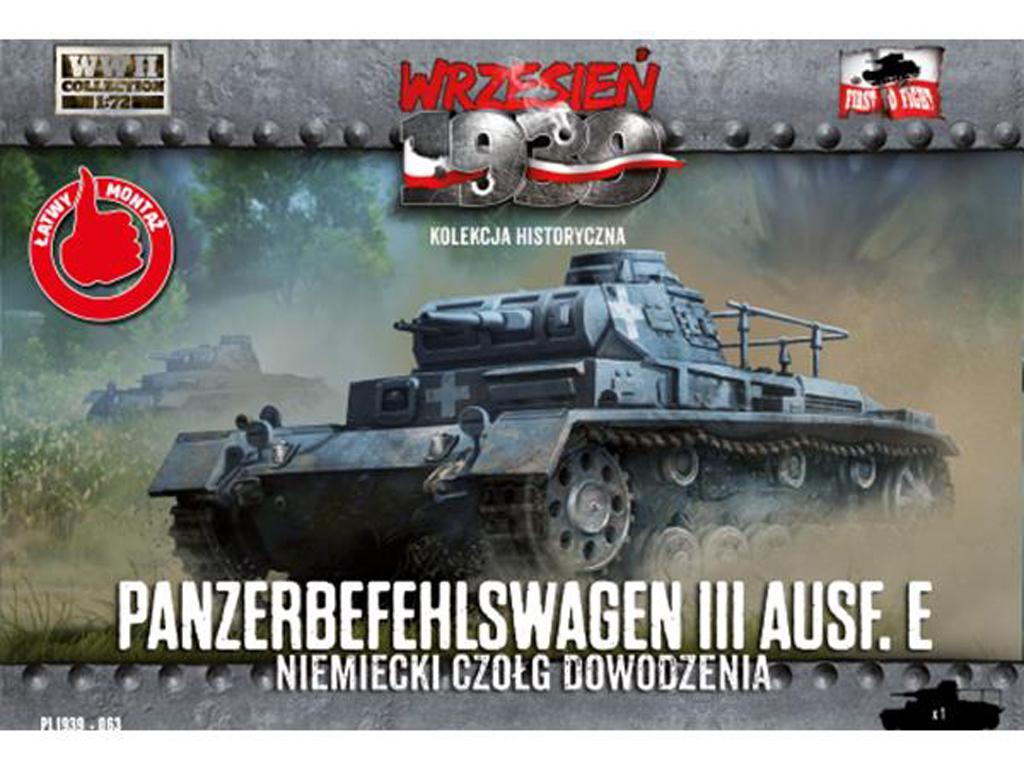 Panzerbefehlswagen III Ausf. E (Vista 1)