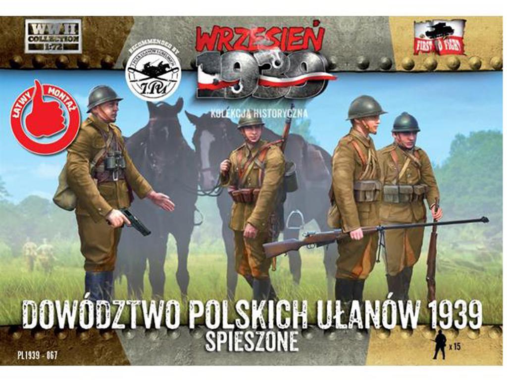 El cuartel general polaco de los Uhlans a pie (Vista 1)