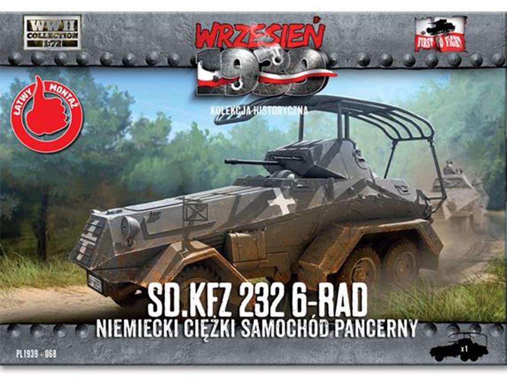 Sd.Kfz. 232 6-Rad (Vista 1)