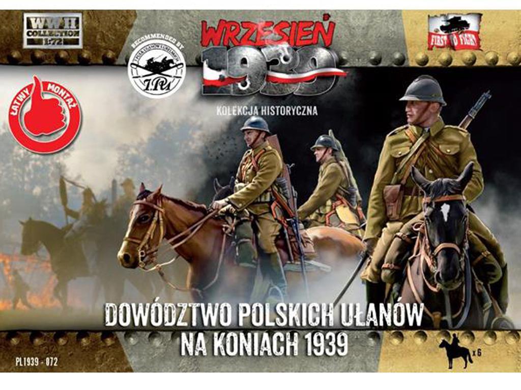 Comando Uhlans polaco a caballo (Vista 1)