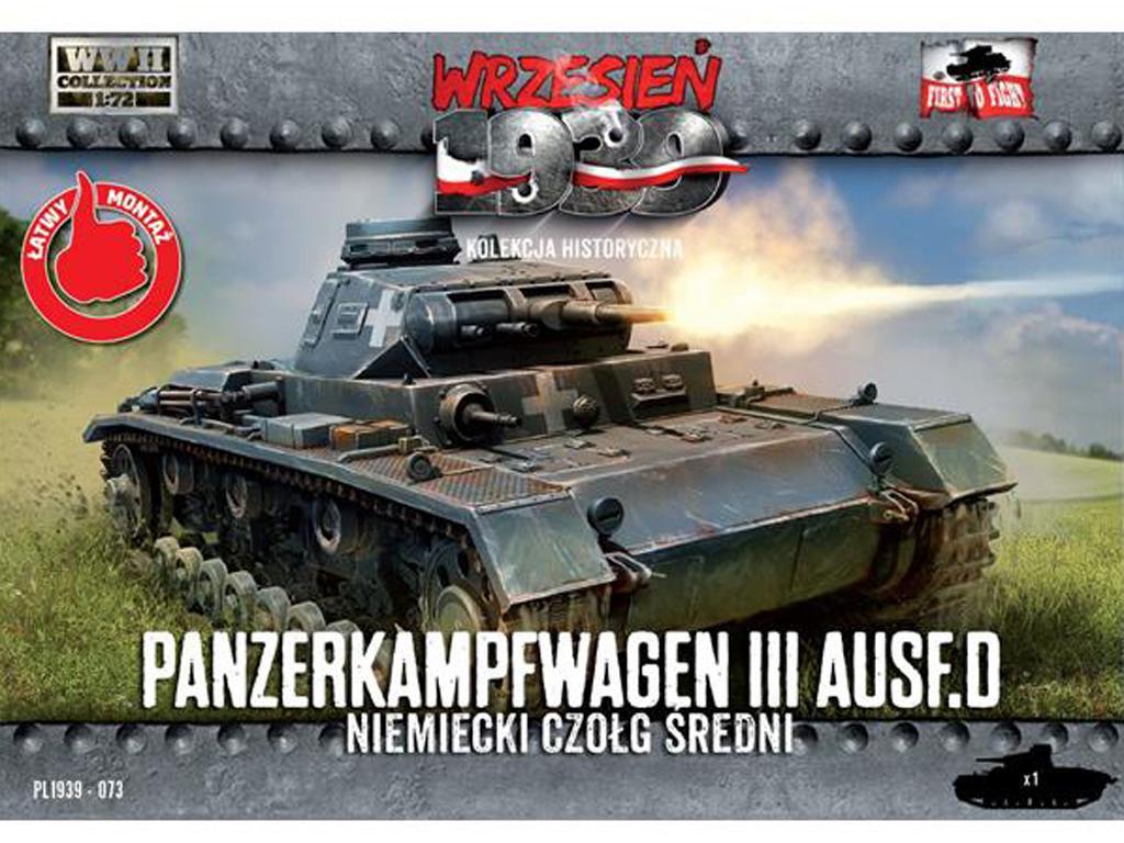 Panzer Kpfw. III Ausf. D (Vista 1)