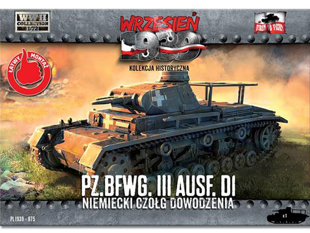 Panzer .BfWg III Ausf. D1 (Vista 1)