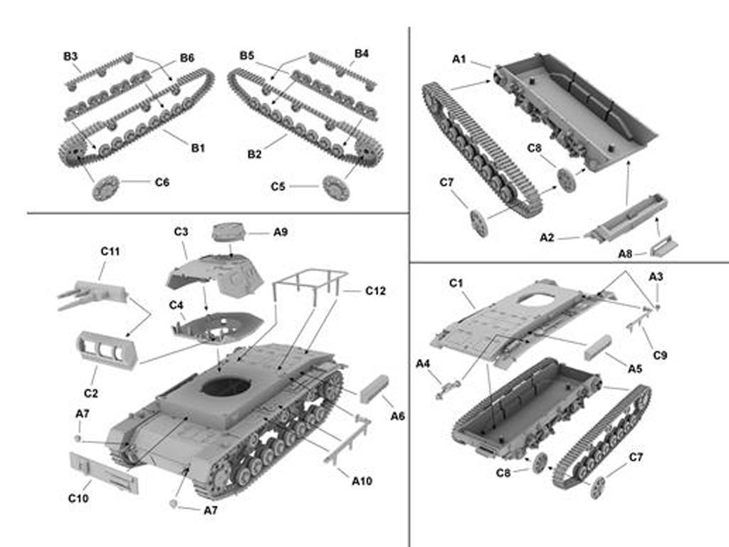Panzer .BfWg III Ausf. D1 (Vista 2)