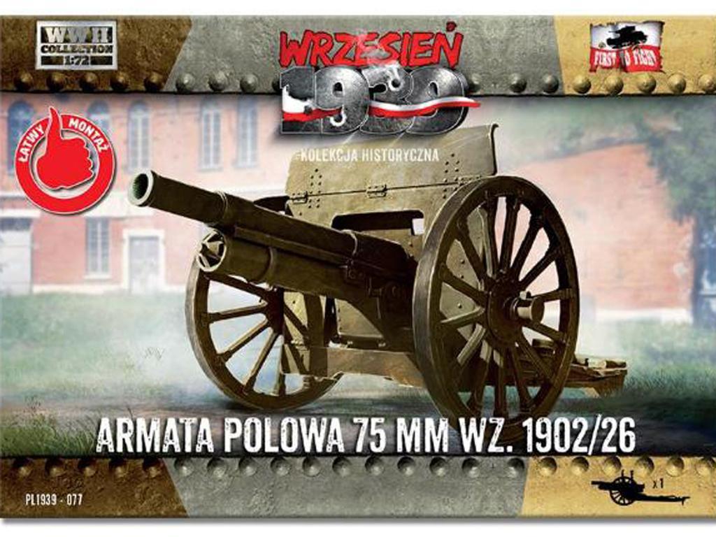 Field Gun 75mm wz.1902/26 (Vista 1)