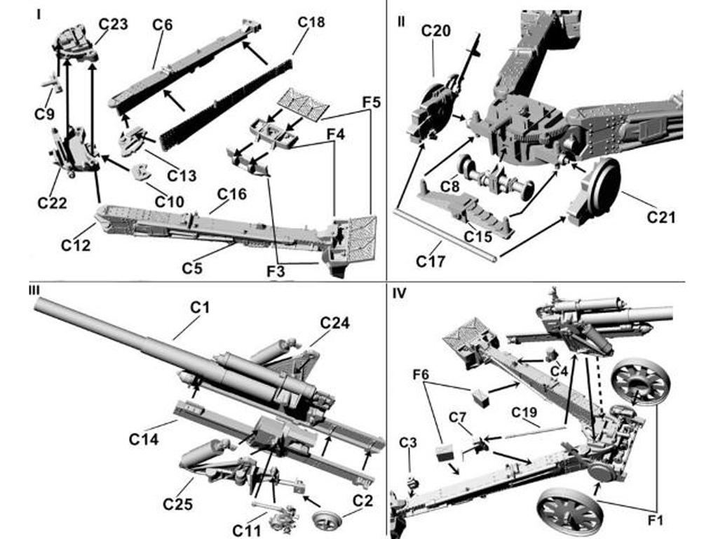 15 cm sFH 18 German heavy howitzer for horse traction (Vista 2)