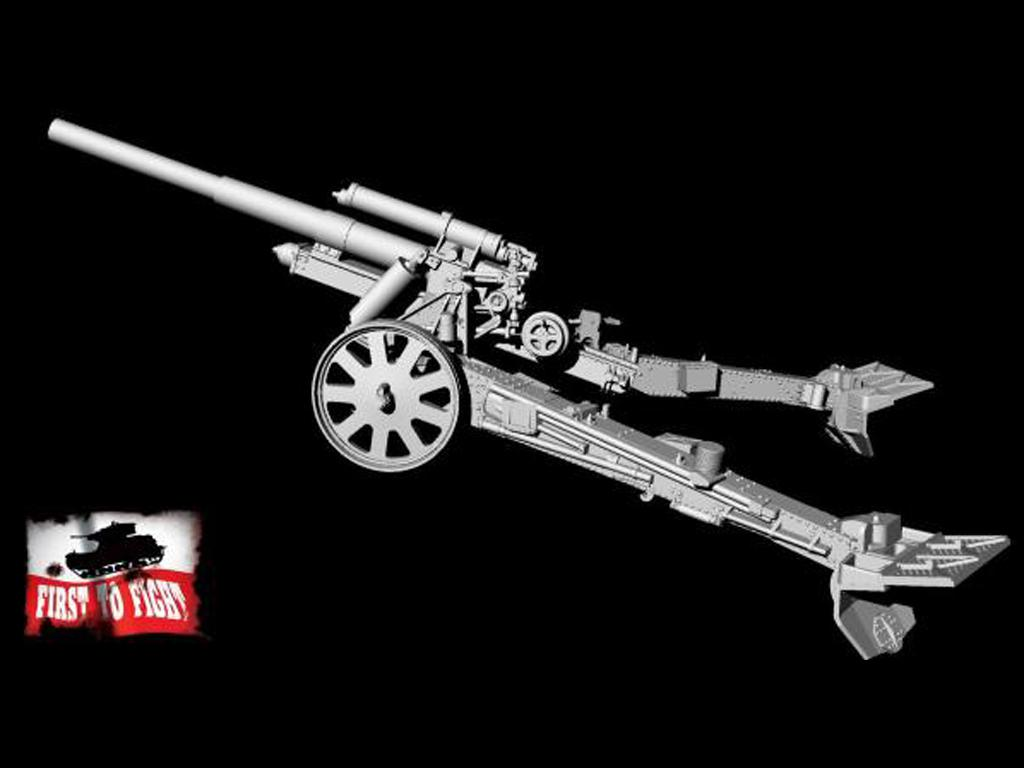 15 cm sFH 18 German heavy howitzer for horse traction (Vista 4)