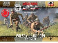 Uhlans polacos a pie (Vista 2)