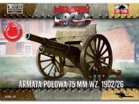 Field Gun 75mm wz.1902/26 (Vista 2)