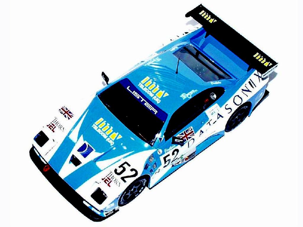 Lister Storm 24h Le Mans 1995  (Vista 1)