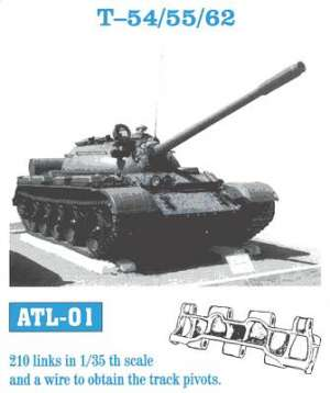 Cadenas T-54, 55, 62, Type 69 - Ref.: FRIU-ATL001