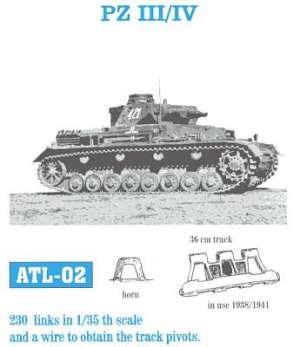 Panzer III / IV inicial 36 - Ref.: FRIU-ATL002