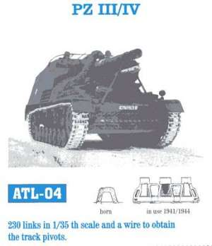 Panzer III / IV - Ref.: FRIU-ATL004