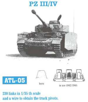 Panzer III / IV 40 cm media - Ref.: FRIU-ATL005