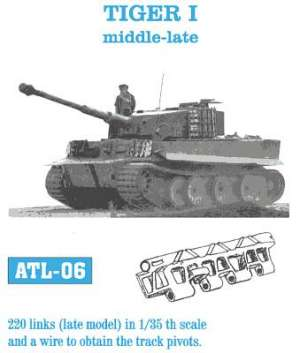 Tiger I medio-final - Ref.: FRIU-ATL006