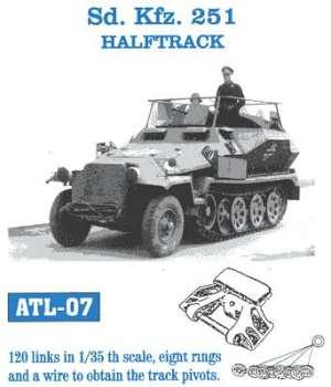 Sdkfz. 251 Halftrack - Ref.: FRIU-ATL007