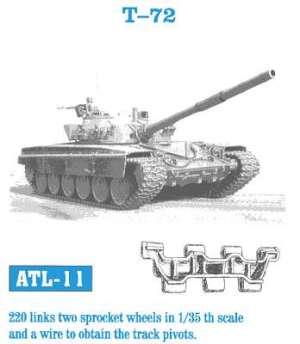 Cadenas para T-72 - Ref.: FRIU-ATL011