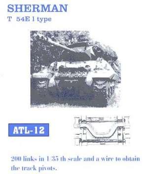 M-4 Sherman taco metálico  - Ref.: FRIU-ATL012