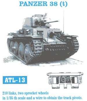 Panzer 38 (t) - Ref.: FRIU-ATL013