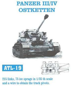 Cadenas para Panzer III / IV 40cm ostket - Ref.: FRIU-ATL019