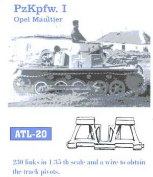 Panzer I - Ref.: FRIU-ATL020
