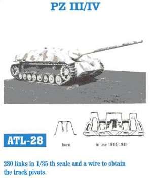 Panzer IV 40 cm final alige - Ref.: FRIU-ATL028