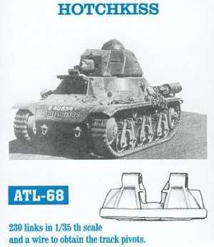 Cadenas para Hotchkiss H35 - Ref.: FRIU-ATL068