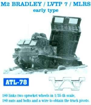 Cadenas para M2 Bradley /LVTP7/MLRS/tipo - Ref.: FRIU-ATL078